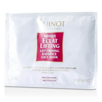 GuinotLift Firming Radiance Face Mask 4x19ml/0.64oz