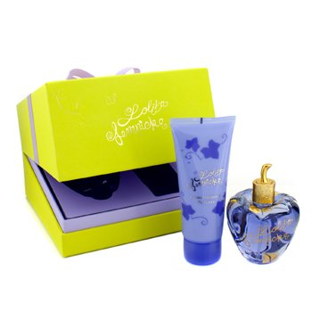Lolita Lempicka Lolita Lempicka Coffret: Eau De Parfum Spray 100ml/3.4oz + Perfumed Velvet Cream 100ml/3.4oz  2pcs