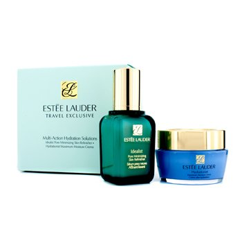 Est�e LauderMulti-Action Hydration Solutions: Idealist Pore Minimizing Skin Refinisher 50ml + Hydrationist Maximum Moisture Creme 50ml 2pcs