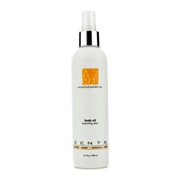 Zents Mandarin Body Oil Hydrating Elixir 248ml/8.4oz