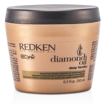 RedkenDiamond Oil Deep Facets Oil Enriched Intensive Treatment (For Dull, Damaged Hair) 250ml/8.5oz