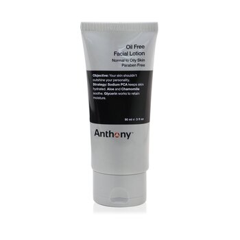 Anthony Logistics For Men Loci�n Facial Sin Aceite (Piel Normal a Grasa)  90ml/3oz