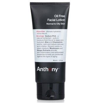 Anthony Logistics For Men Loci�n Facial Sin Aceite (Piel Normal a Grasa)  90ml/3oz