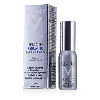 Купить LiftActiv Сыворотка 10 для Глаз и Ресниц (для Чувствительных Глаз) 15ml/0.5oz, Vichy