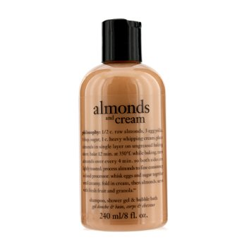 Body CareAlmonds And Cream Shampoo, Shower Gel & Bubble Bath 240ml/8oz
