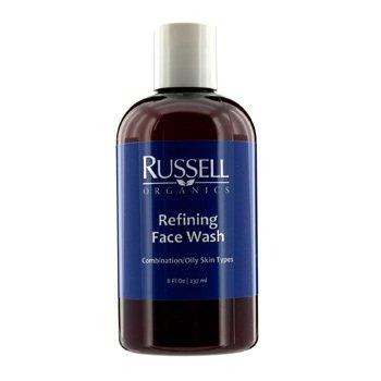 Russell Organics Jab�n Facial Refinador (Para Piel Mixta/Grasa)  237ml/8oz