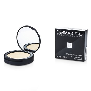 Intense Powder Camo Compact Foundation (Medium Buildable to High Coverage) - # Ivory