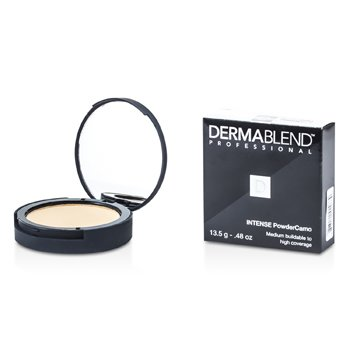 Dermablend Intense Powder Camo Compact Foundation (Medium Buildable to High Coverage) - # Sand 13.5g/0.48oz