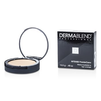 Dermablend Intense Powder Camo Compact Foundation (Medium Buildable to High Coverage) – # Caramel 13.5g/0.48oz