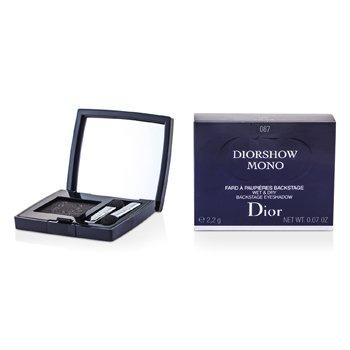Christian Dior Diorshow Mono Wet & Dry Backstage Eyeshadow – # 087 Black 2.2g/0.07oz