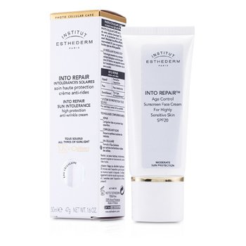 Esthederm Into Repair Sun Intolerance Sunscreen Face Cream 50ml/1.6oz