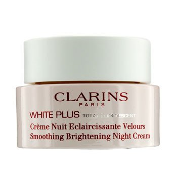 ClarinsWhite Plus Total Luminescent Smoothing Brightening Night Cream 50ml/1.7oz