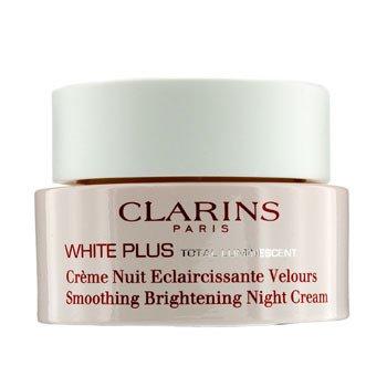 Clarins White Plus Total Luminescent Разглаживающий Осветляющий Ночной Крем 50ml/1.7oz