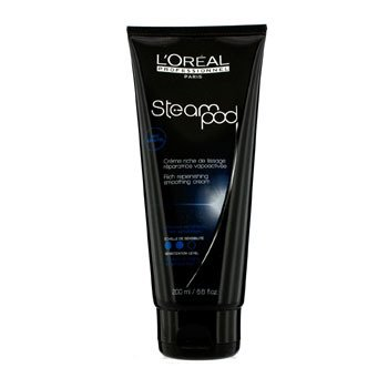 L'OrealProfessionnel Steampod Rich Replenishing Smoothing Cream (For Medium to Highly Sensitised Hair) 200ml/6.6oz