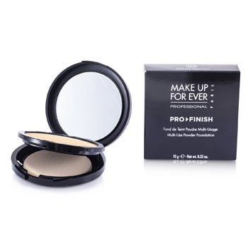 Make Up For Ever Pro Finish Multi Use Powder Foundation – # 168 Golden Camel 10g/0.35oz