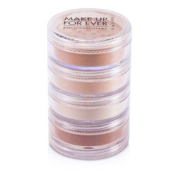 Make Up For EverMulti Loose Powder (4xLoose Powder) - # Dark Tone 4x5g/0.16oz