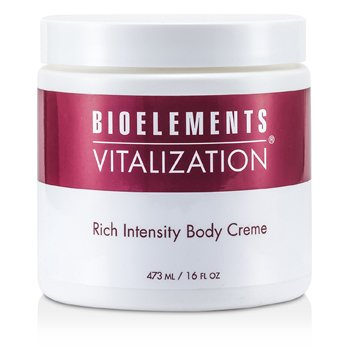 Bioelements Vitalization Rich Intensity Body Cream (Salon Size)  473ml/16oz