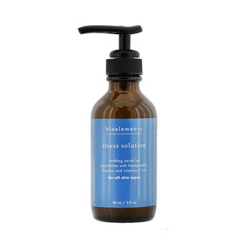 Bioelements Stress Solution - Skin Smoothing Facial Serum (Salon Size, For All Skin Types) 88ml/3oz