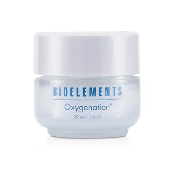Bioelements Oxygenation - Revitalizing Facial Treatment Creme (Salon Product, For Very Dry, Dry, Combination, Oily Skin Types)  29ml/1oz