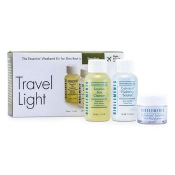 BioelementsThe Essential Weekend Kit (For Sensitive Skin): Cleanser + Calmitude Hydrating Solution + Moisturizer 3pcs