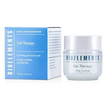 Bioelements Gel Therapy - Hydrating Gel Facial Mask (Salon Product, For All Skin Types, Except Sensitive) 73ml/2.5oz