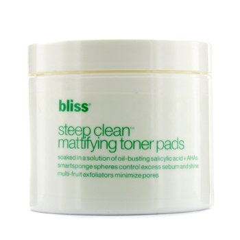 BlissSteep Clean Mattifying Toner Pads (Unboxed) 50pads