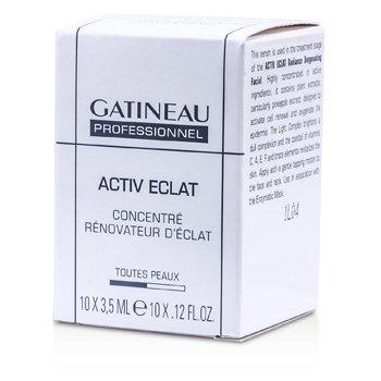 Gatineau Active Eclat Concentrador Renovador de Resplandor (Tama�o Sal�n)  10x3.5ml/0.12oz