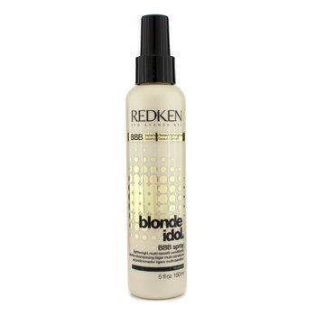 Redken Blonde Idol BBB Spray Lightweight Multi-Benefit Conditioner (For Beautiful Blonde Hair) 150ml/5oz