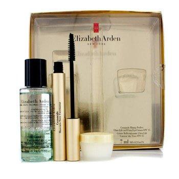 Elizabeth Arden Ceramide Lash Extending Coffret: 1x Mascara, 1x Eye & Lip Makeup Remover, 1x Eye Cream  3pcs