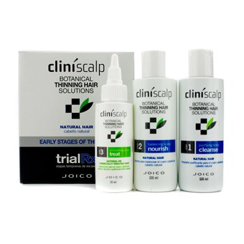 JoicoCliniscalp Trial Rx Kit - Early Stages of Thinning (For Natural Hair) 3pcs