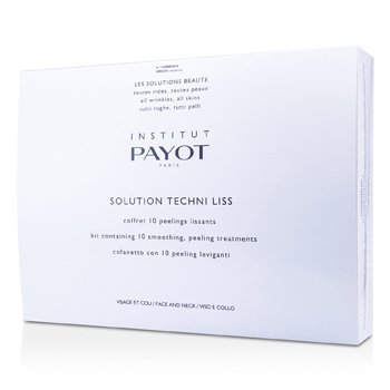 PayotSolution Techni Liss - Smoothing & Peeling Treatments For Face & Neck (Salon Product) 10treatments