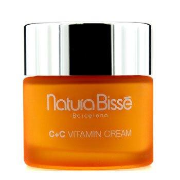 Natura BisseC+C Vitamin Crema SPF 10 - Para Piel Seca (Caja Ligeramente Da�ada) 75ml/2.5oz