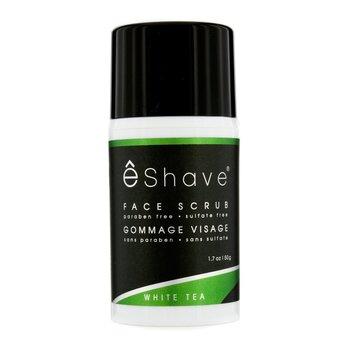 EShaveFace Scrub - White Tea 50g/1.7oz