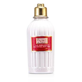 L'OccitaneRoses Et Reines Beautifying Body Milk - Losion Tubuh 250ml/8.4oz