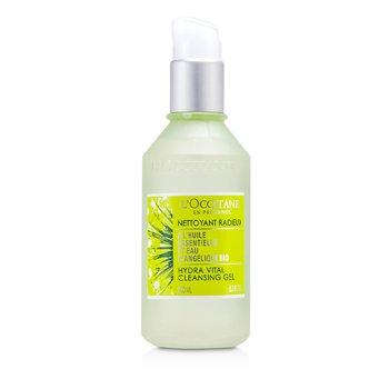 L'Occitane Angelica Hydra Vital Cleansing Gel - Pembersih  200ml/6.7oz