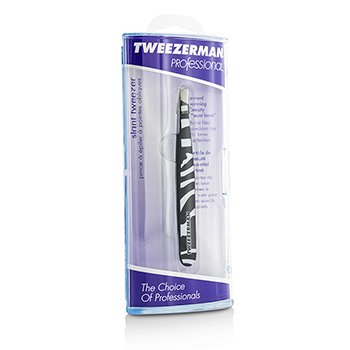 Tweezerman Professional Slant Tweezer (Pattern Prints) - Animal Print/ Zebra -
