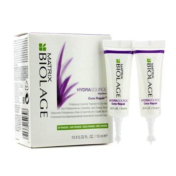 MatrixBiolage HydraSource Cera-Repair Professional Ceramide Treatment (For Dry Hair) 10x10ml/0.33oz