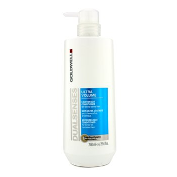 GoldwellDual Senses Ultra Volume Lightweight Conditioner (For Fine to Normal Hair) 750ml/25.4oz
