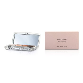 Jill Stuart Velvet Crystal Eyes Palette (4xEye Color  1xApplicator) – # 08 Amalia Tutu 8g/0.28oz