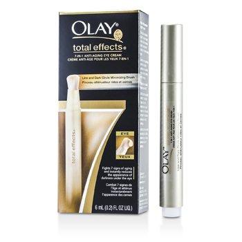 OlayTotal Effects 7 in 1 Anti-Aging Eye Cream - Line & Dark Circle Minimizing Brush 6ml/0.2oz