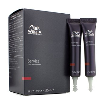 WellaService Color Post Tratamiento 6x20ml/0.7oz