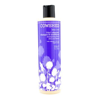 Cowshed Lazy Cow 2-in-1 Ultra-Rich Shampoo & Conditioner 300ml/10.15oz hair care