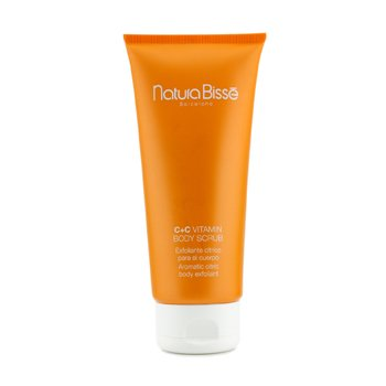 Natura BisseC+C Vitamin Body Scrub (Unboxed) 200ml/7oz
