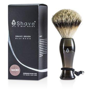 EShaveFinest Badger Long Shaving Brush - Smoke 1pc