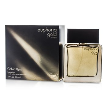 Calvin KleinEuphoria Gold Men Eau De Toilette Spray (Limited Edition) 100ml/3.4oz