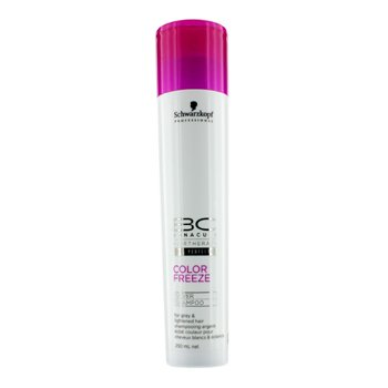 SchwarzkopfBC Color Freeze Silver Shampoo - For Grey & Lightened Hair (New Packaging) 250ml/8.4oz