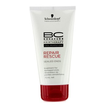 Schwarzkopf BC Repair Rescue Sealed Ends Treatment - For Damaged Ends (New Packaging)  75ml/2.5oz