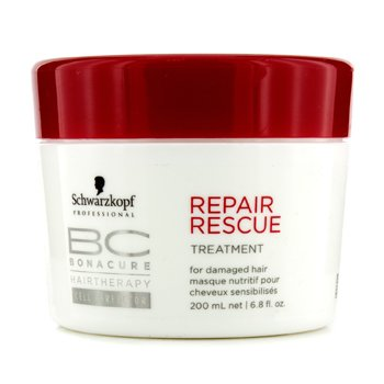 SchwarzkopfBC Repair Rescue Treatment - For Damaged Hair (New Packaging) 200ml/6.8oz