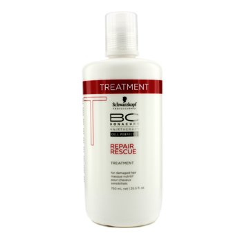 Schwarzkopf BC Repair Rescue Treatment - For Damaged Hair (New Packaging)  750ml/25.5oz
