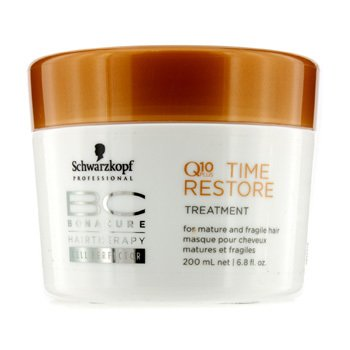 SchwarzkopfBC Time Restore Q10 Plus Treatment - For Mature and Fragile Hair (New Packaging) 200ml/6.8oz